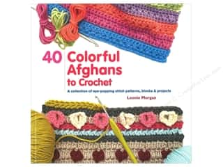 yarn: St Martin's Griffin 40 Colorful Afghans to Crochet  Book