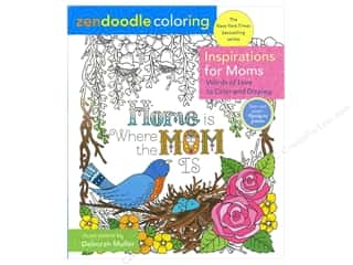 St Martin's Griffin Zendoodle Inspirations For Moms Coloring Book