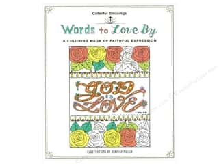 books & patterns: St Martin's Griffin Words to Love By Coloring Book