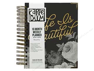 Simple Stories Collection Carpe Diem Beautiful Planner 16 Month/Weekly