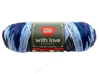 yarn & needlework: Red Heart With Love Yarn 223 yd. #1978 Baroque Stripe