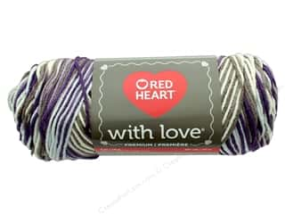 yarn & needlework: Red Heart With Love Yarn 230 yd. #1972 Renaissance