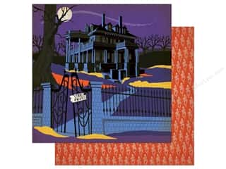 """Carta Bella Collection Haunted House Paper  12""""x 12"""" (25 pieces)"""