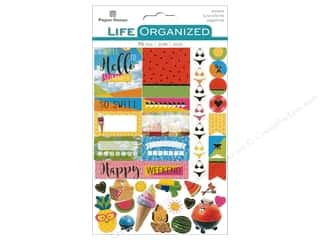 Paper House Collection Life Organized Sticker Planner Summer Fun