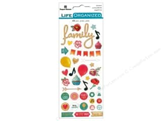 Paper House Collection Life Organized Sticker Puffy Every Moments Fun