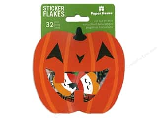 Paper House Collection Life Organized Sticker Flake Halloween