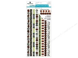 Paper House Collection Life Organized Sticker Rice Paper Halloween
