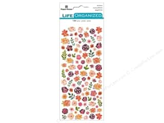 scrapbooking & paper crafts: Paper House Collection Life Organized Sticker Micro Flowers