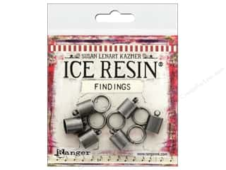 resin: Ranger ICE Resin Findings Cap 8mm/Ring 10mm Silver