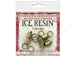 resin: Ranger ICE Resin Findings Cap 8mm/Ring 10mm Bronze
