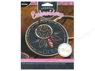 yarn & needlework: Bucilla Stamped Embroidery Kit Dream Catcher