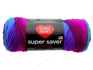 yarn & needlework: Red Heart Super Saver Yarn 236 yd. #4960 Polo Stripe