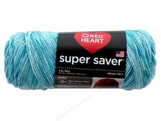 yarn & needlework: Red Heart Super Saver Yarn 236 yd. #3974 Topaz