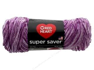 yarn & needlework: Red Heart Super Saver Yarn 236 yd. #3973 Almandine