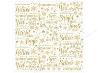 "Paper House Collection Christmas Joy Paper 12""x 12"" Acetate"