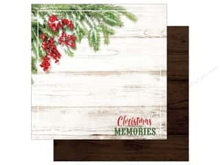 "Paper House Collection Christmas Joy Paper 12""x 12"" Memories"