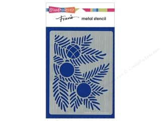 craft & hobbies: Stampendous Stencil Metal Boughs