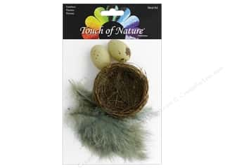 floral & garden: Midwest Design Bird Nest Set Grass 2.75""