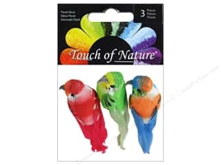 "craft & hobbies: Midwest Design Birds 1.5"" Mini Tropical Assorted 3pc"