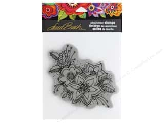 stamps: Stampendous Cling Rubber Stamp Laurel Burch Festive Flora