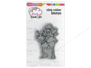stamp cleaner: Stampendous Cling Rubber Stamp Whisper Friends Reindeer