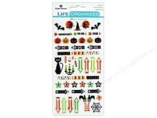 Paper House Collection Life Organized Epoxy Sticker Halloween