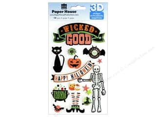 scrapbooking & paper crafts: Paper House Sticker 3D Wicked Good