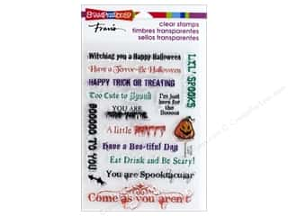 halloween stamp: Stampendous Clear Stamp Spooky Wishes