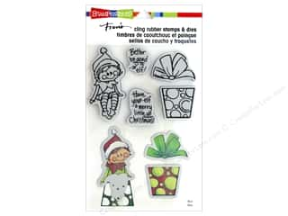 die cutting machines: Stampendous Stamp & Die Set Seated Elf