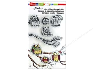 die cuts: Stampendous Stamp & Die Set Owl Be Home