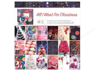 scrapbooking & paper crafts: American Crafts 12 x 12 in. Paper Pad All I Want for Christmas
