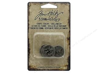 Tim Holtz Metallic Mixative: Tim Holtz Idea-ology Halloween Shape Tokens
