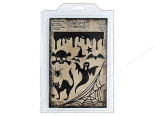 scrapbooking & paper crafts: Tim Holtz Idea-ology Halloween Cling Foam Stamp