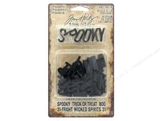 resin: Tim Holtz Idea-ology Halloween Typography