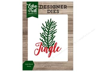 Clearance: Echo Park Collection Christmas Cheer Die Set Jingle Branch