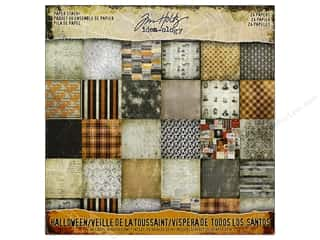 Tim Holtz Idea-ology Halloween Paper Stash 8 in. x 8 in. Picture