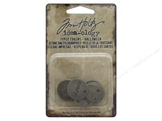 Tim Holtz Metallic Mixative: Tim Holtz Idea-ology Halloween Typed Tokens
