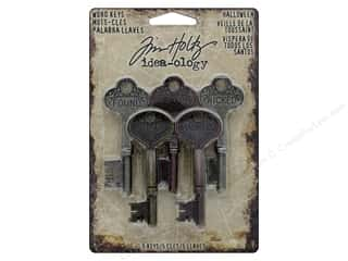 Tim Holtz Metallic Mixative: Tim Holtz Idea-ology Halloween Word Keys