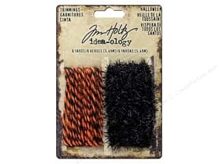 scrapbooking & paper crafts: Tim Holtz Idea-ology Halloween Trimmings
