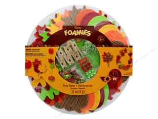 string: Darice Foamies Kit Thanksgiving Party Platter
