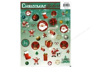 Heartnotes Sticker Christmas Vintage