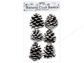 craft & hobbies: Sierra Pacific Crafts Decor Filler Pinecones with Snow 6 pc