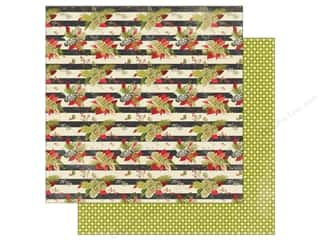 "christmas paper: Authentique Vintage Christmas Paper 12""x 12"" Two (25 pieces)"
