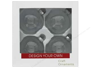 craft & hobbies: Sierra Pacific Crafts Decor Ornament 3.25 in. Clear 4 pc