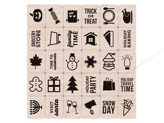 stamps: Hero Arts Rubber Stamp Set Kelly's Holiday Planner