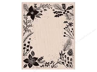 Clearance: Hero Arts Rubber Stamp Holiday Floral Background
