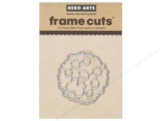 die cuts: Hero Arts Die Frame Cuts Color Layering Wreath