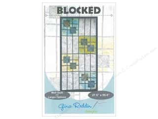 books & patterns: Gina Reddin Designs Blocked Pattern