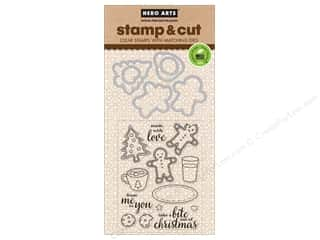 Hero Arts Stamp & Cuts Santa Snacks