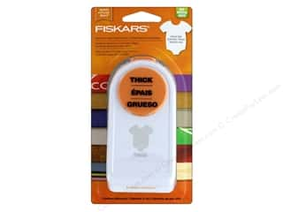 Clearance: Fiskars Punch Thick 1.5 in. Onesie